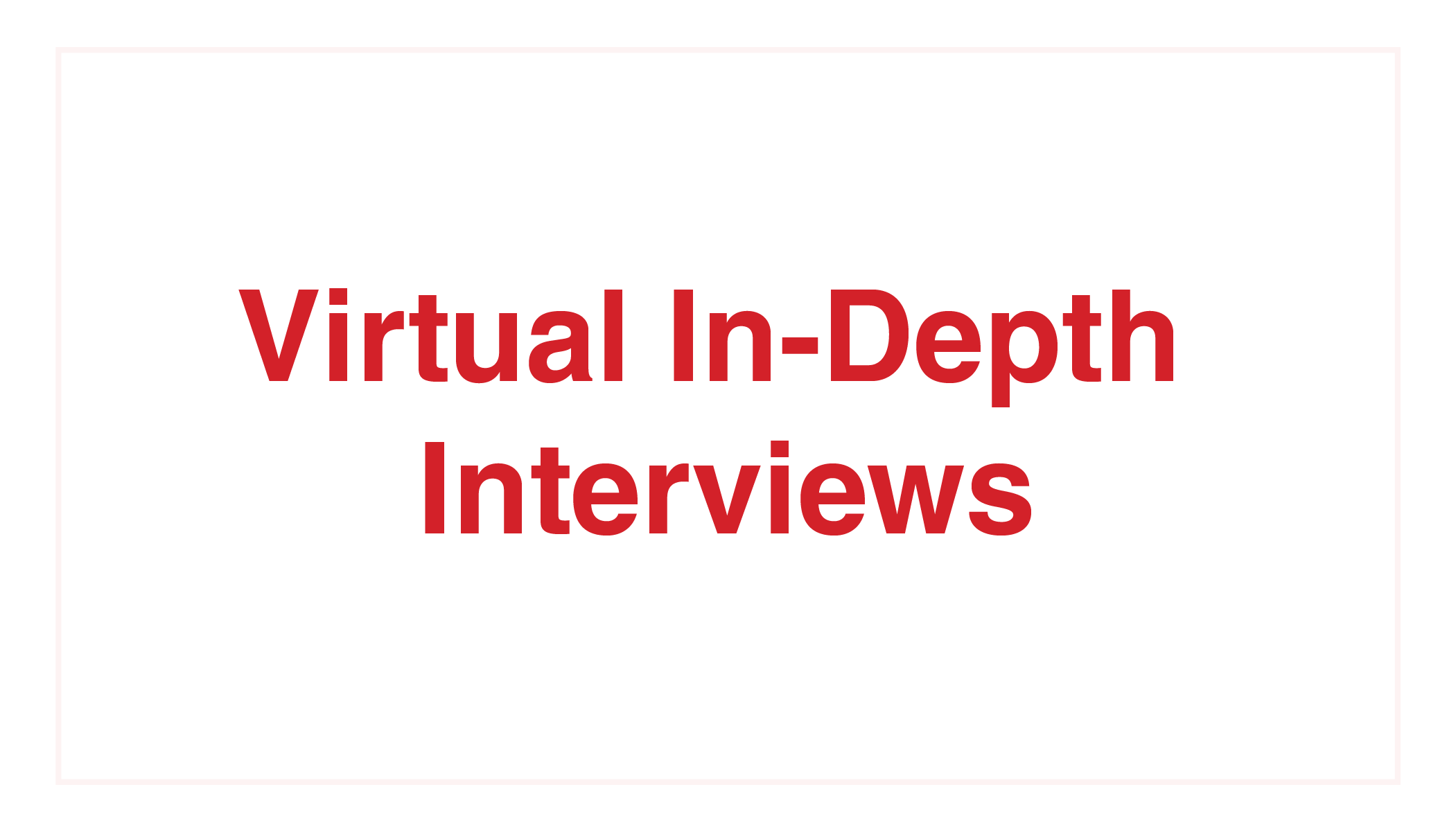 Kelton Global_Virtual In-Depth Interviews